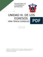 DE LOS EGRESOS CONTABILIDAD GUBERNAMENTAL