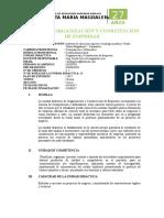 Silabo Organización y Constitución de Empresas 2017