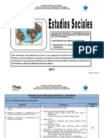 Estudios Sociales Bachillerato 2017 1