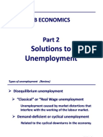 IB Economics Notes - Macroeconomic Goals Low Unemployment (Part 2)