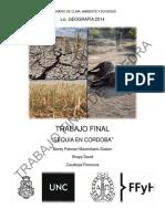 """""""Sequía en Córdoba"""""""