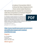 The Maritime Labour Convention