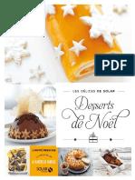 Collectif-Desserts de Noël - Les délices de Solar-Solar (2015)