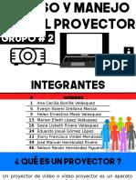 Uso y manejo de un Proyector