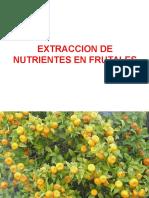 Extraccion en Frutales