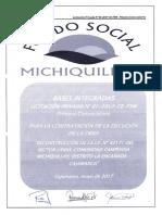 Bases Integradas Licitacion Privada N01-2017-CE-FSM Reconstruccion de La I.E Usnio