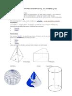 Cuántas Clases de Solido Geométrico Hay