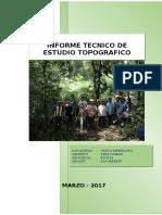 Informe Topografico Nueva Esperanza