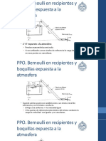 Aplicaciones Bernoulli Tanques
