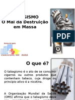 Slide Tabagismo - Nasf 2014