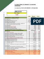 Prod. 10 07 15 - Sub LT 220kV Mirador - Malvinas