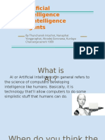 artificial intelligence and intelligence agents