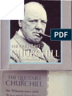 The Quotable Churchill. a Prime Collection of Wit & Wisdom