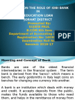 A Study on the Role of IDBI Bank In Education