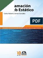 Programación de Web Estático