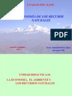 Economía de Los Recursos Naturales_Semana 1