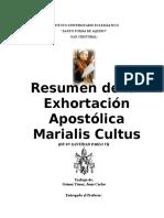 Resumen de La Marialis