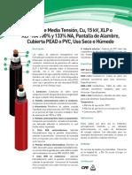 Cable Cu 15kv Xlp Xlpra 100y1330na Peadypvc Humedoyseco Ft 2014 019