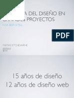 IXDA Beer & Tell - Dinamica del diseno en grandes proyectos