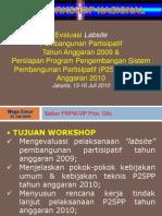Paparan Workshop Nasional P2SPP