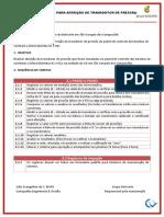 Plano de Ação - Aferição Do Transdutor de Pressão