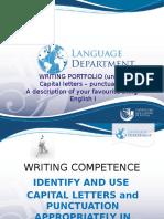 Writing Portfolio 1 - Unit 2 - HAVE GOT -Capital Letter-punctuation