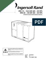 Ingersoll Rand IRN15 IRN22 Manual
