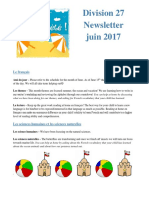 division 27 june 2017 newsletter
