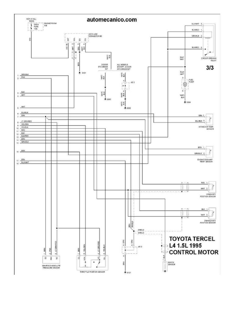 Diagramas Toyota 5E FE