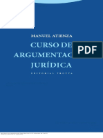 Curso de Argumentación Jurídica - Manuel Atienza