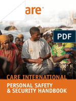 CI Personal Safety and Security Handbook 2014