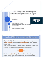 Mid- and Long-Term Roadmap for Global Warning Measures in Japan