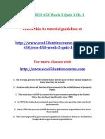 Stayer Eco 450 Week 2 Quiz 1 Ch