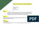 Tugas Latihan Uji Validitas Dan Regresi