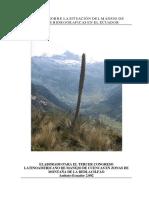Gestión de Las Cuencas Hidrograficas en Ecuador