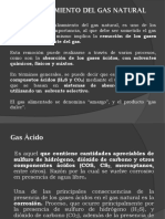Tema Endulzamiento Del Gas Natural