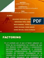 Contratos Factoring