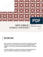 Fatty Liver (2) - Alcoholic Liver Disease