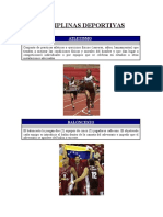 Disciplinas Deportiva Zoila