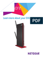Netgear EX6200 Wifi Range Extender AC1200 Manual