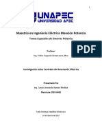Investigación #3_Centrales de Generación Temas Especiales SEP 2003-0482 Leonardo Ramos