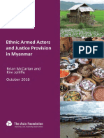 AF 2016 10 Ethnic Armed Actors and Justice Provision in Myanmar en Red