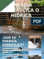 Energia Hidraulica Hidrica