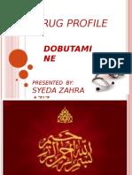 Drug Profile Dobutamine 2