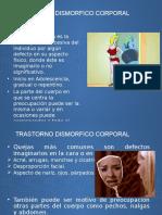 Presentacion  Anorexia, Dismorfo