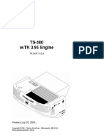 TS-500 WTK 3.95 Parts
