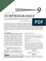 9-Subprogramas