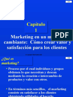 1 Marketing en Un Mundo Cambiante
