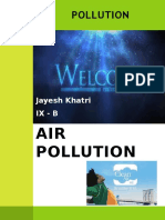 Jayesh - Pollution