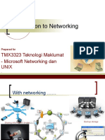 TMX3323 Introduction to Networking